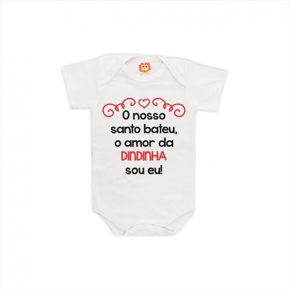 Body ou Camiseta Amor da Dindinha