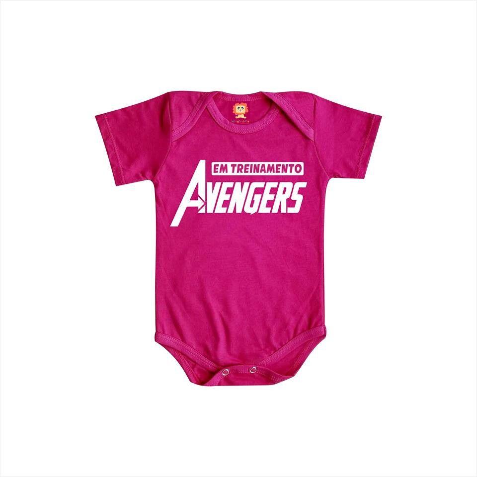 Body ou Camiseta Avengers (Vingadores)