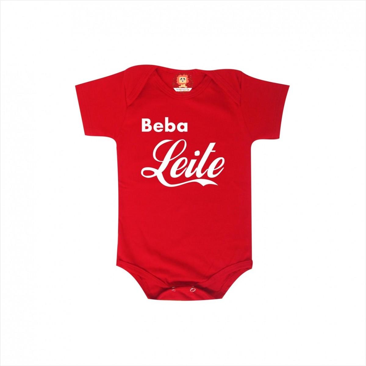 Body ou Camiseta Beba Leite