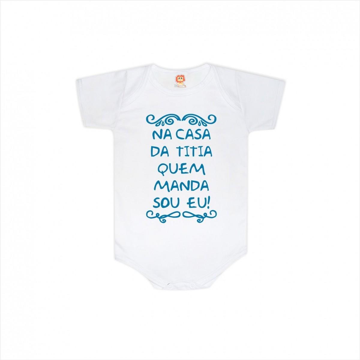 Body ou Camiseta Casa da Titia