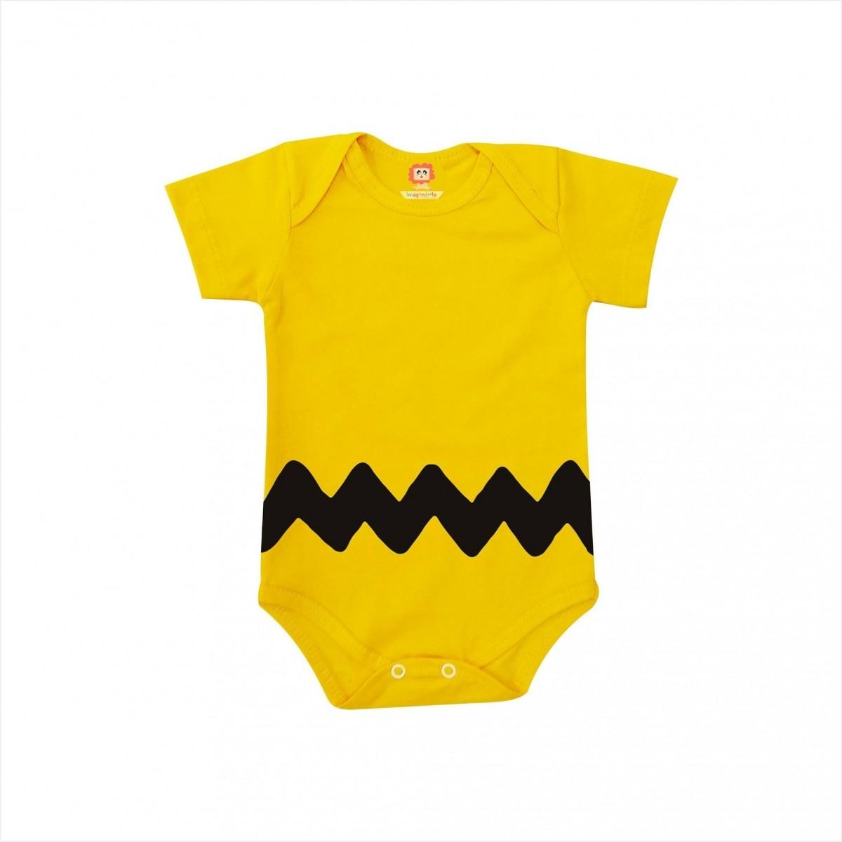 Body ou Camiseta Charlie Brown