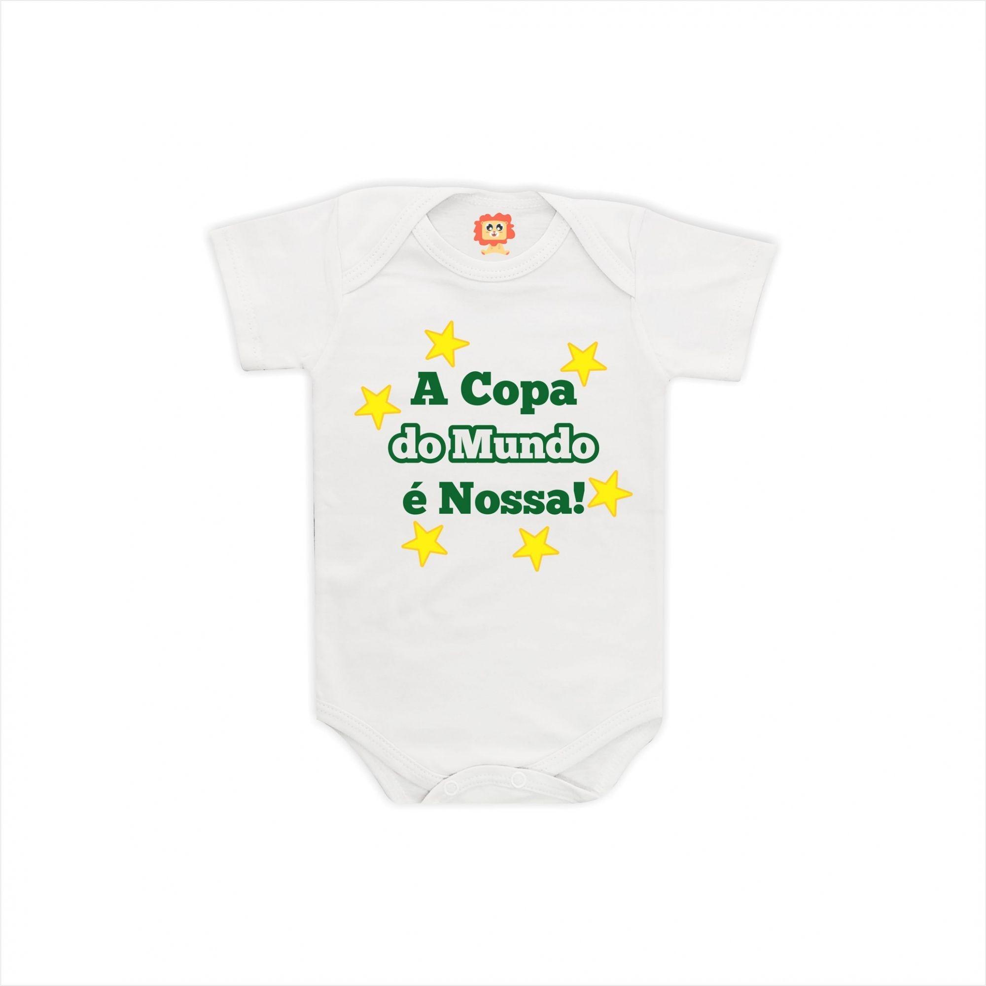 Body ou Camiseta Copa do Mundo