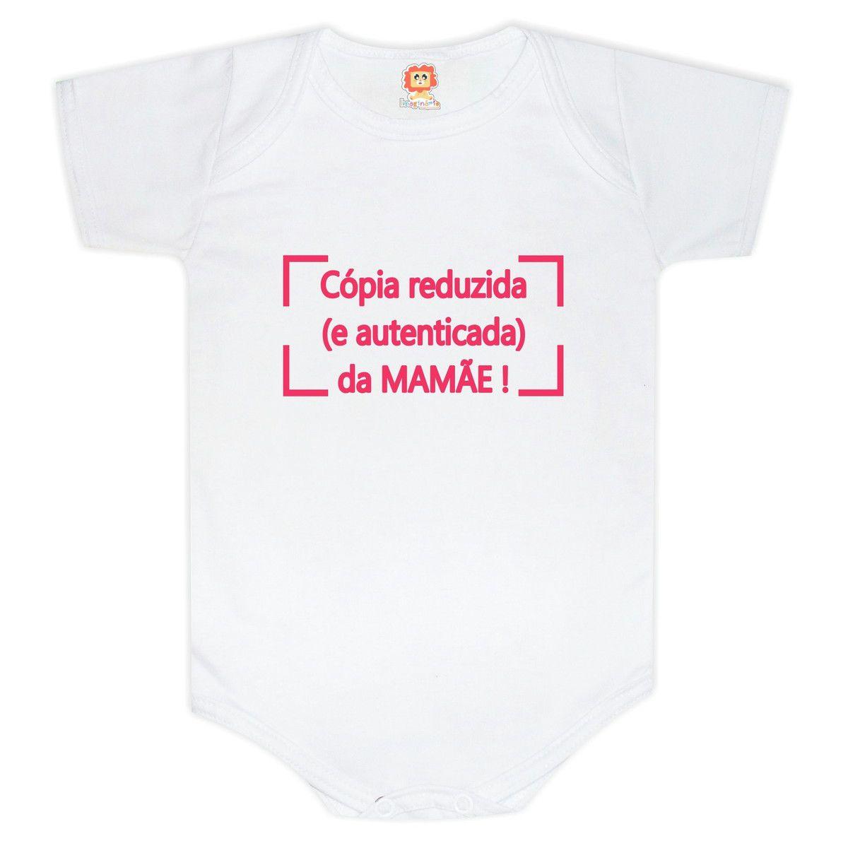 Body ou Camiseta Cópia da Mamãe