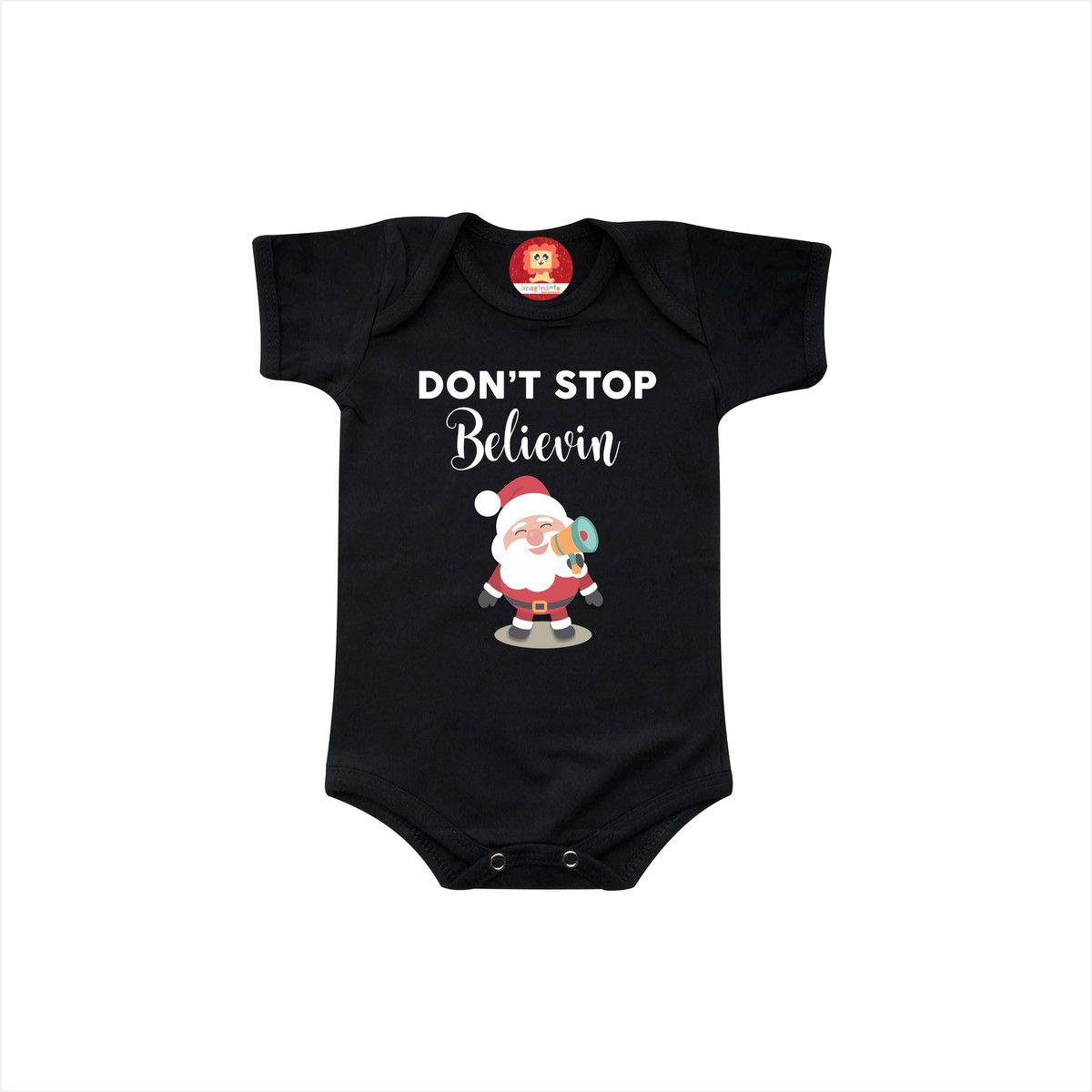 Body ou Camiseta Don't Stop Believin
