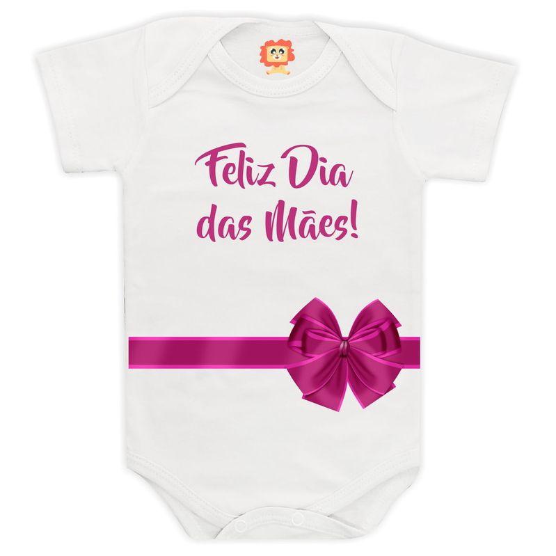 Body ou Camiseta Feliz Dia das Mães - Presente
