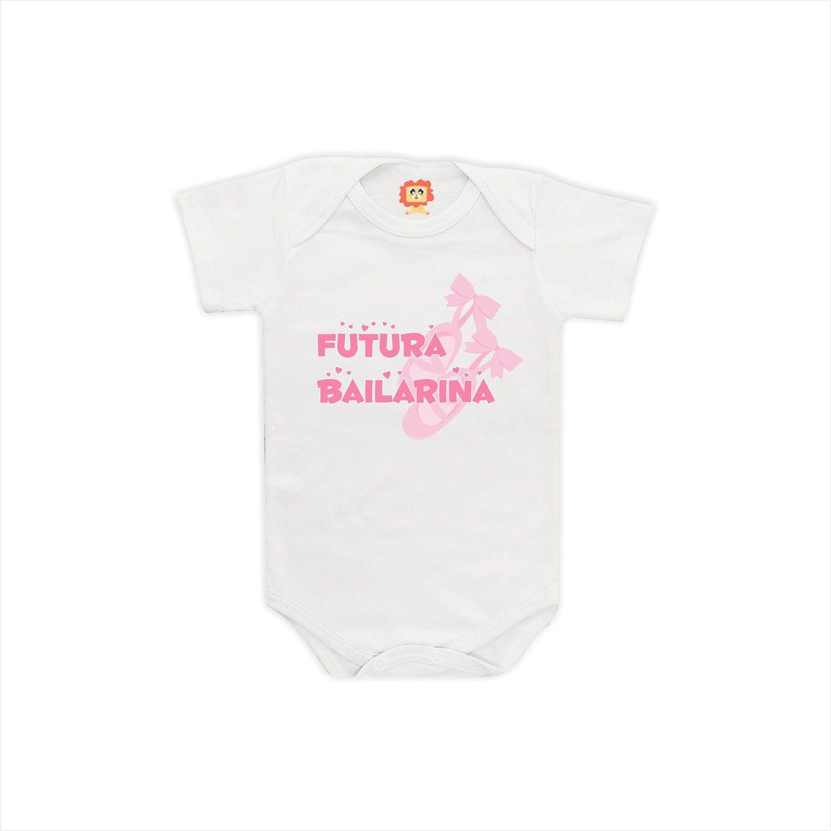 Body ou Camiseta Futura Bailarina