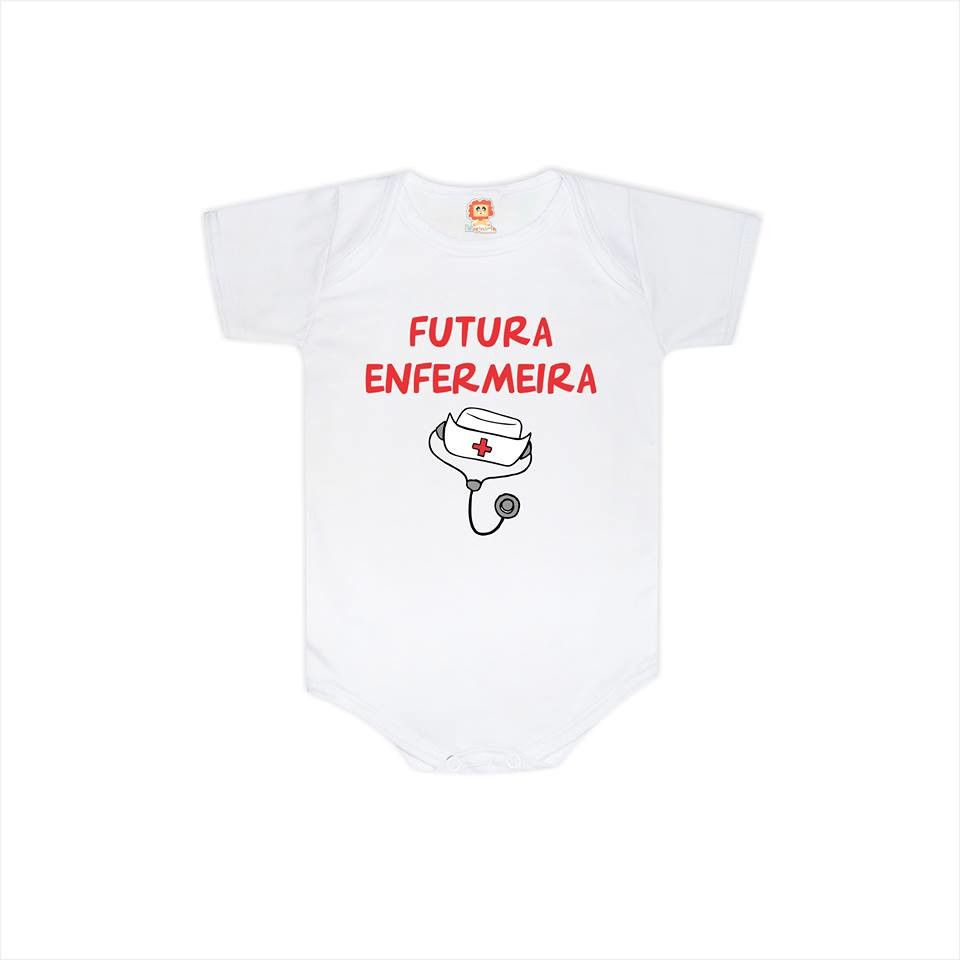 Body ou Camiseta Futura Enfermeira