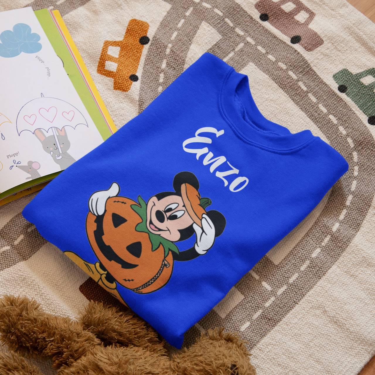 Body ou Camiseta Halloween Mickey