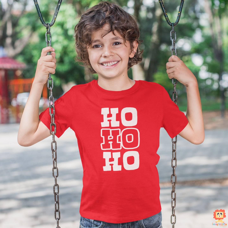 Body ou Camiseta Ho Ho Ho