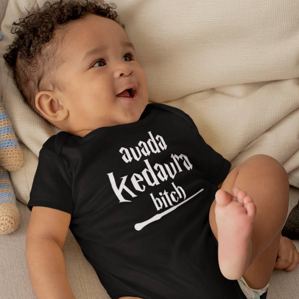 Body ou Camiseta Infantil Feitiço Harry Potter