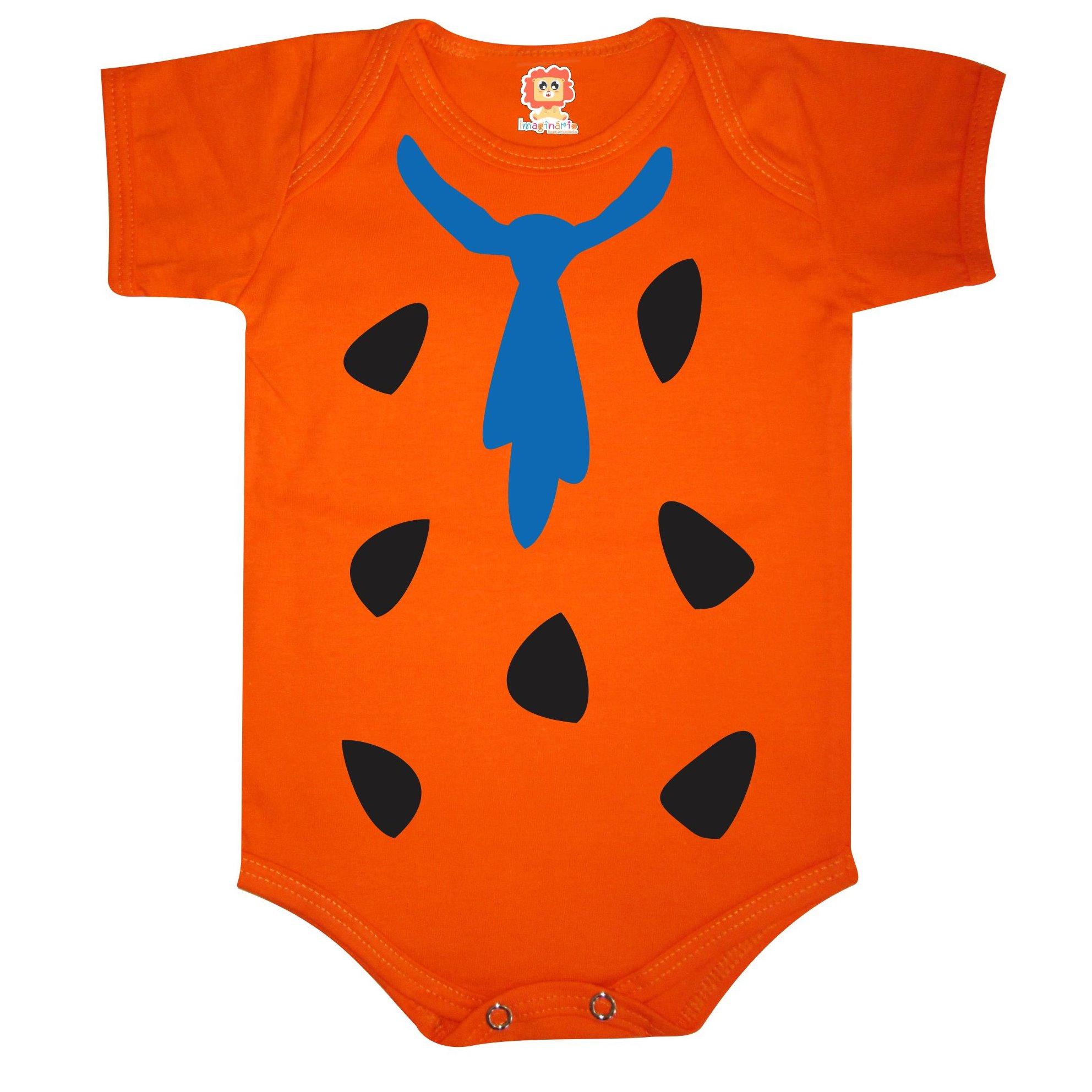 Body ou Camiseta Infantil Fred Flintstone