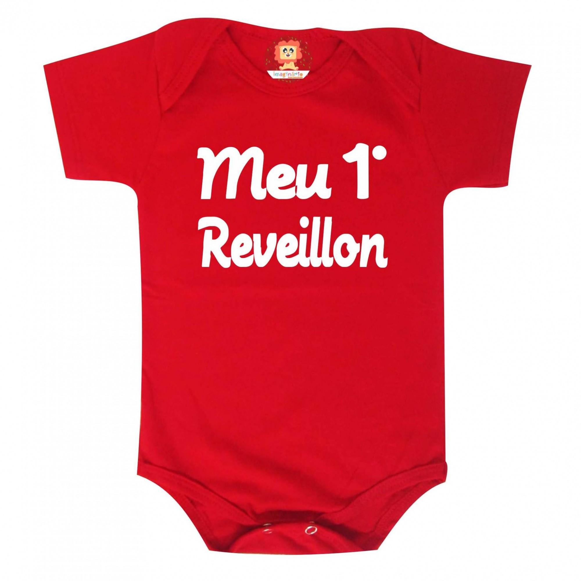 Body ou Camiseta Infantil Meu Primeiro Réveillon