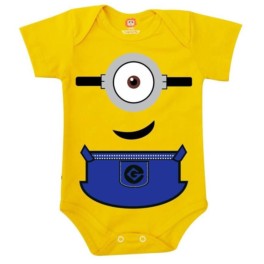 Body ou Camiseta Infantil Minions