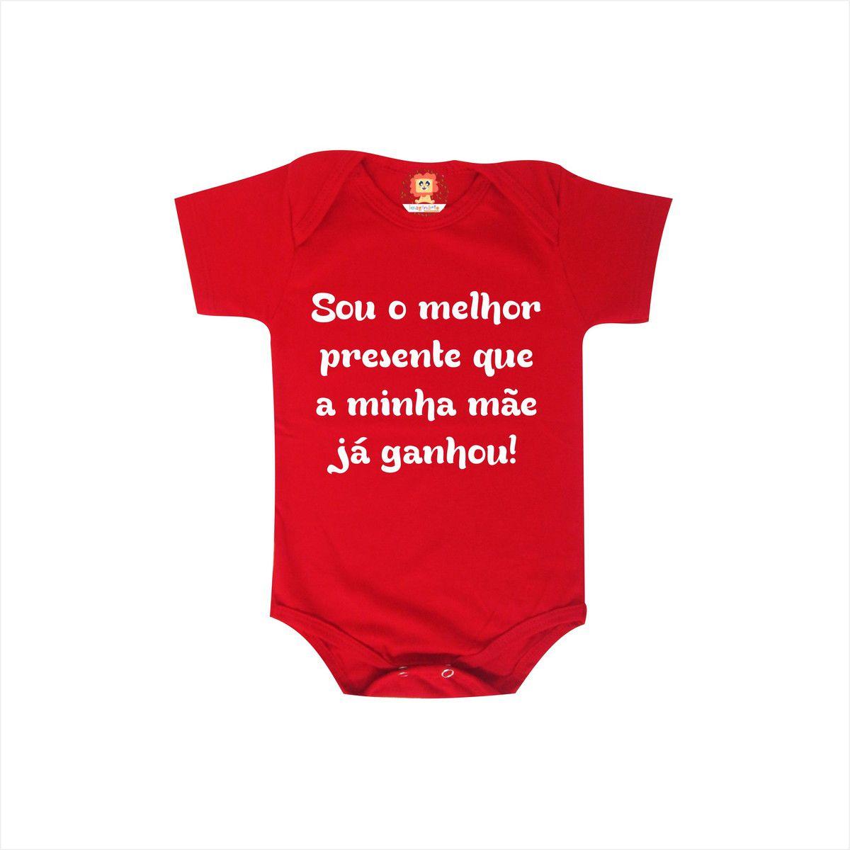 Body ou Camiseta Infantil O Melhor Presente