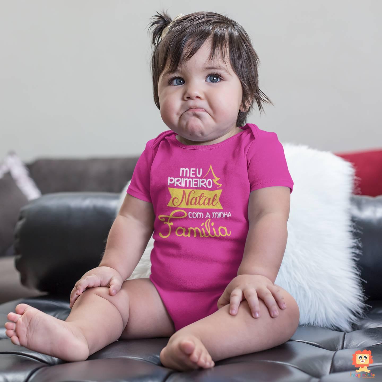 Body ou Camiseta Infantil Primeiro Natal