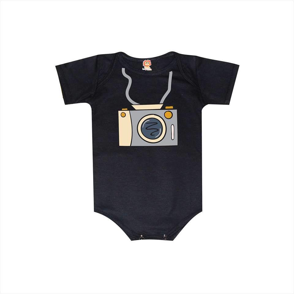 Body ou Camiseta Infantil Profissão Fotógrafo