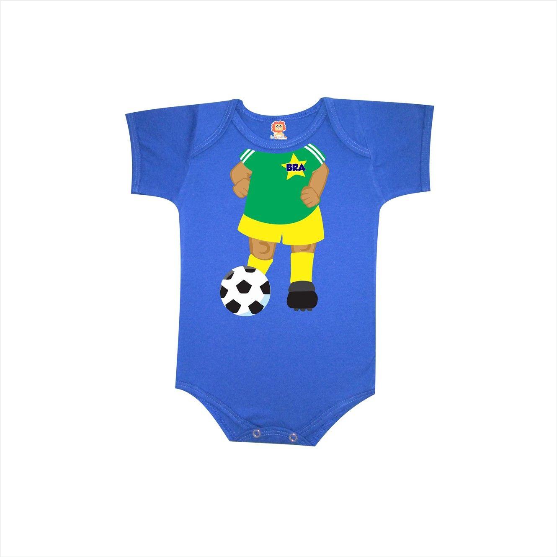 Body ou Camiseta Jogador de Futebol