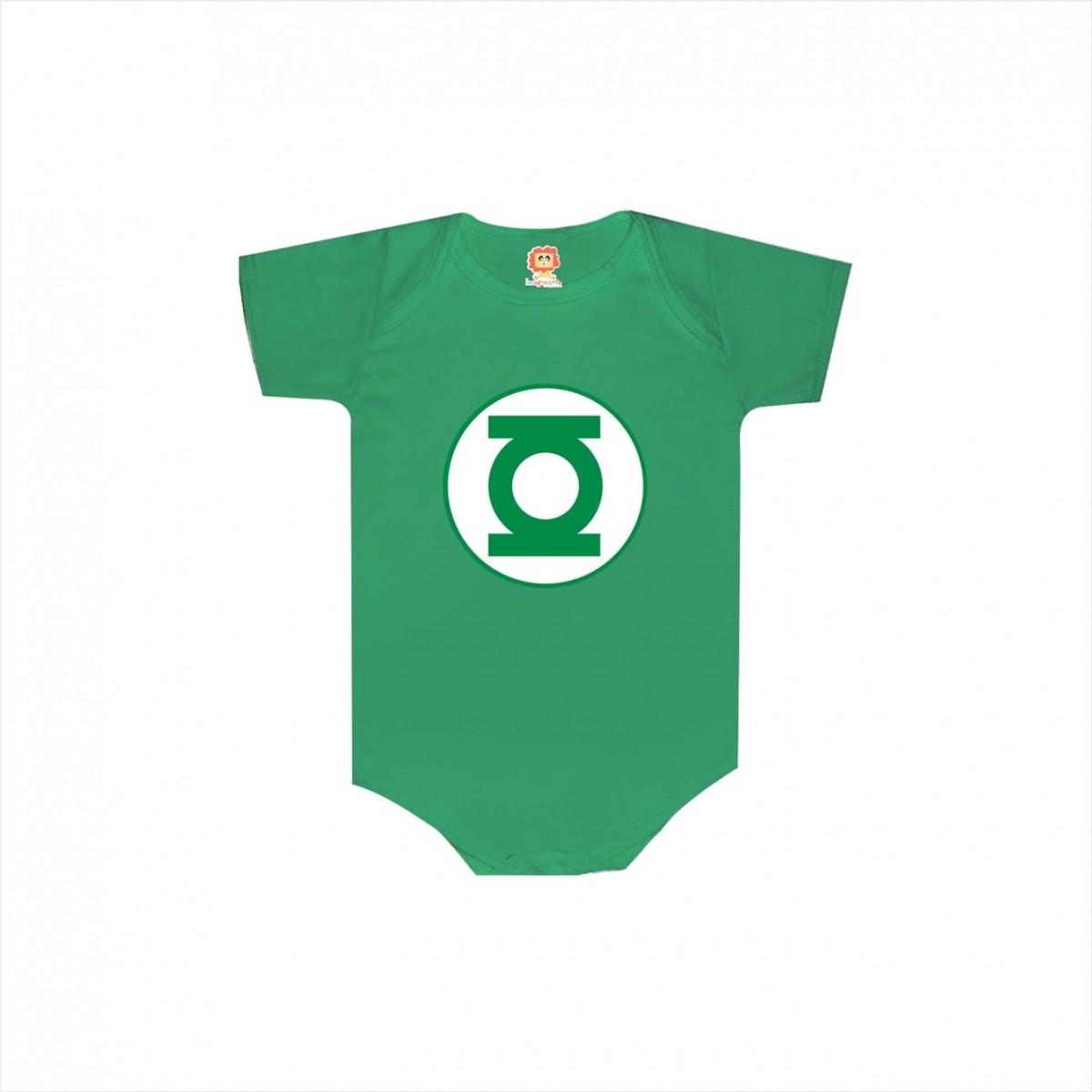 Body ou Camiseta Lanterna Verde