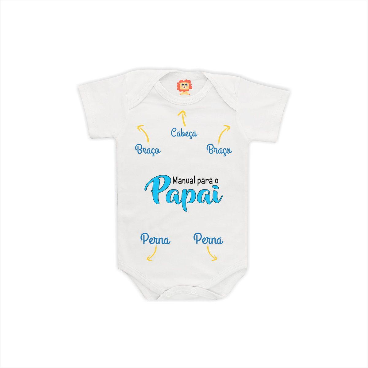 Body ou Camiseta Manual para o Papai