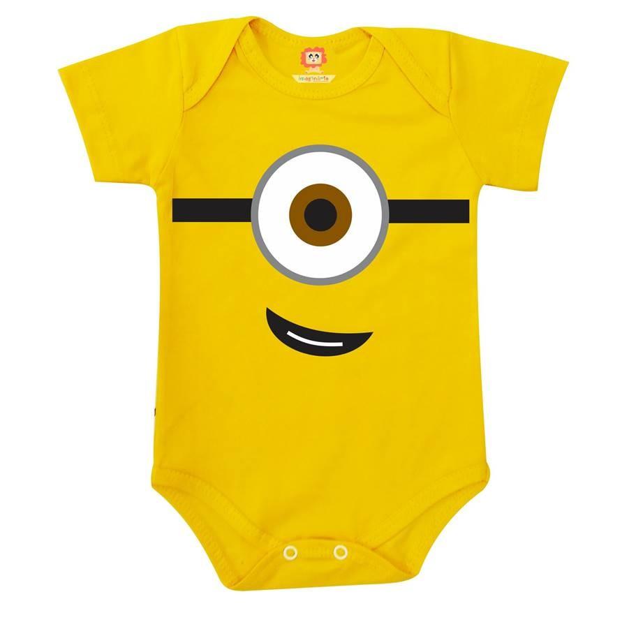 Body ou Camiseta Meu Malvado Favorito Minions