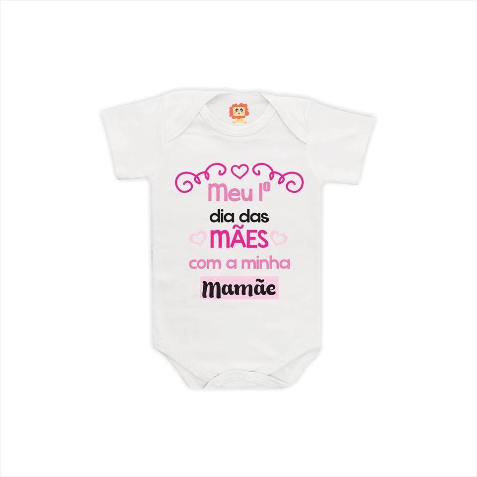 Body ou Camiseta Meu Primeiro Dia das Mães
