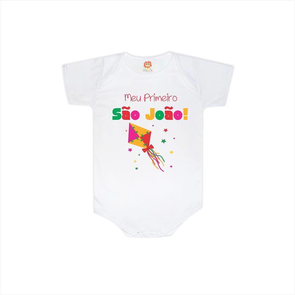 Body ou Camiseta Meu Primeiro São João