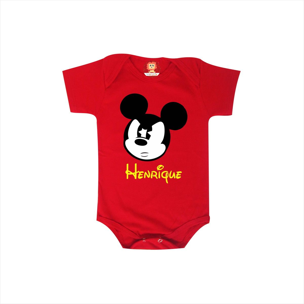 Body ou Camiseta Mickey com Nome