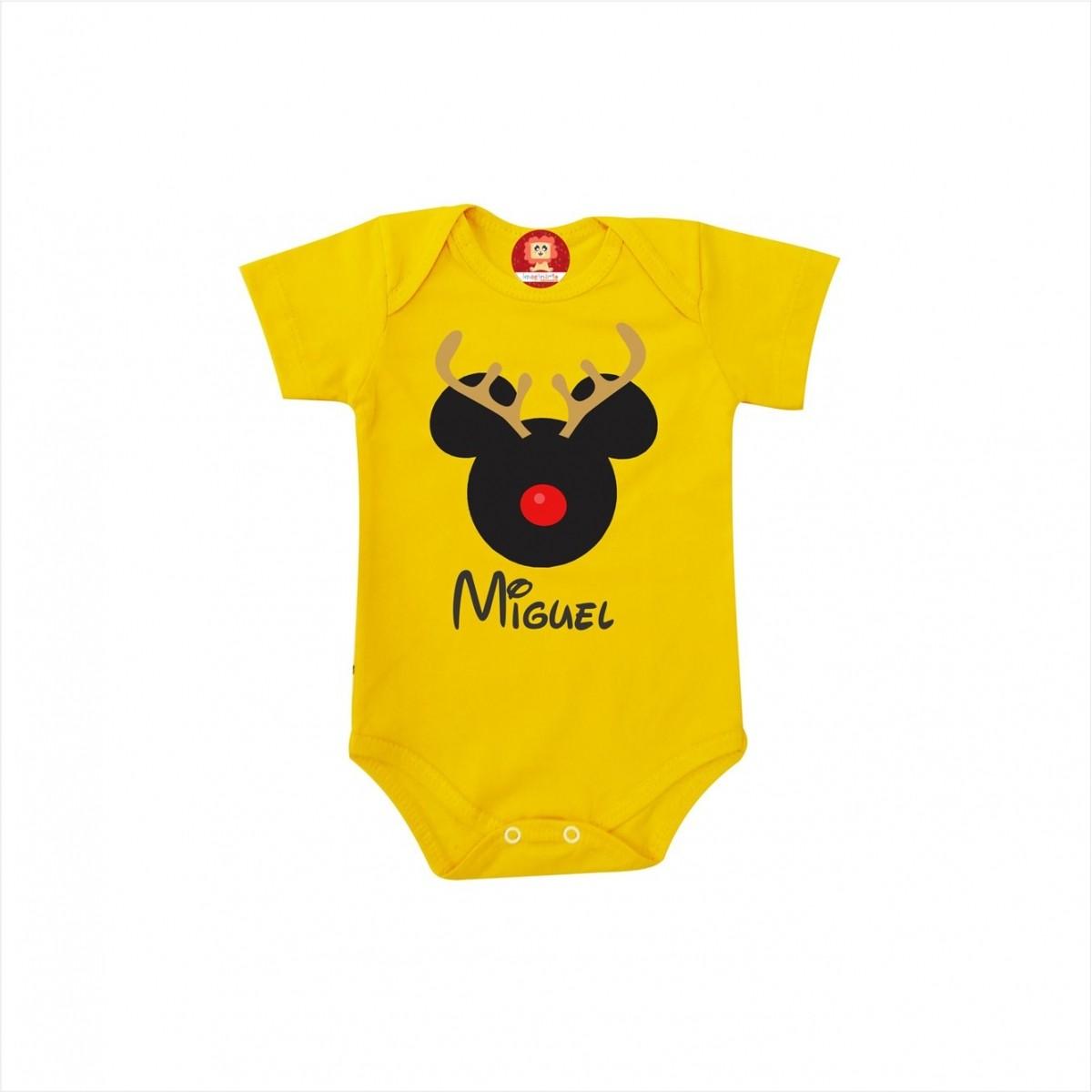 Body ou Camiseta Mickey Rena