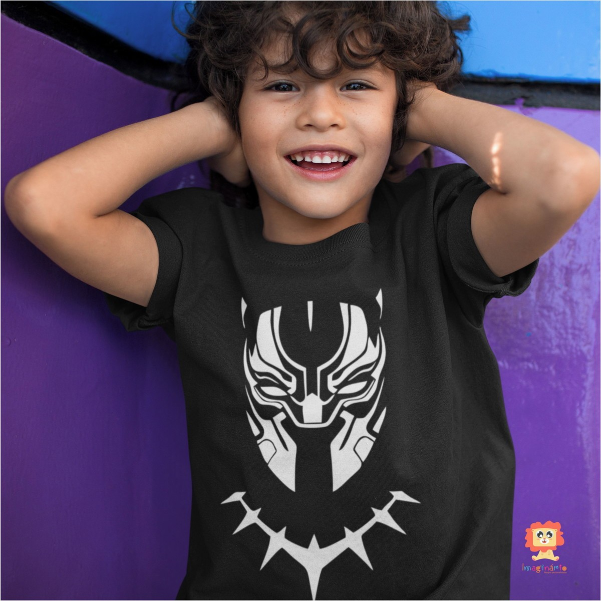 Body ou Camiseta Pantera Negra Vingadores