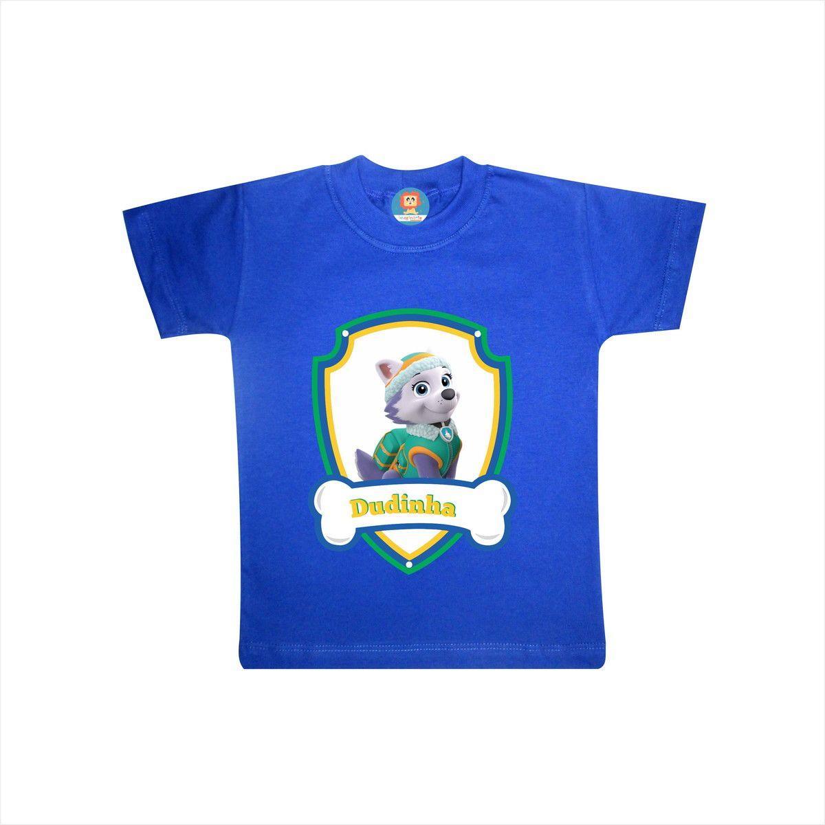 Body ou Camiseta Patrulha Canina Everest Copa do Mundo