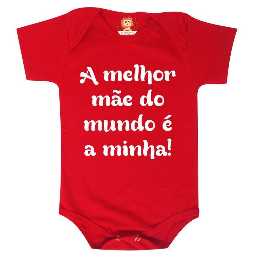 Body ou Camiseta Personalizado  Melhor Mãe