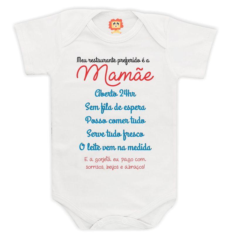 Body ou Camiseta Personalizado Restaurante da Mamãe