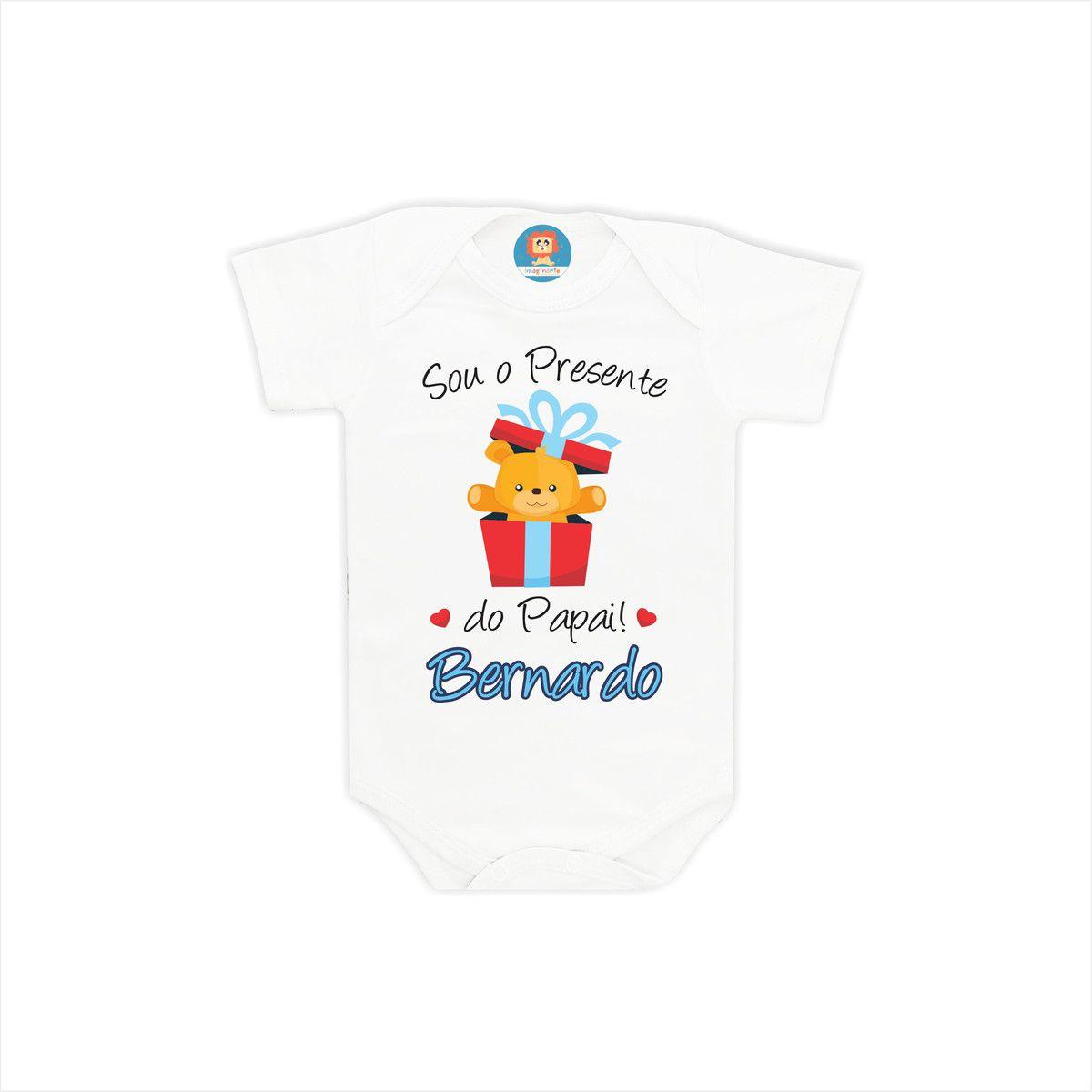 Body ou Camiseta Presente do Papai Ursinho