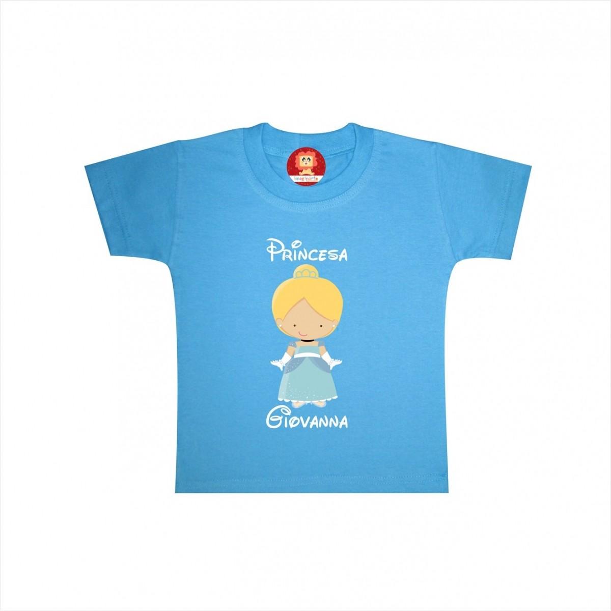 Body ou Camiseta Princesa Cinderela