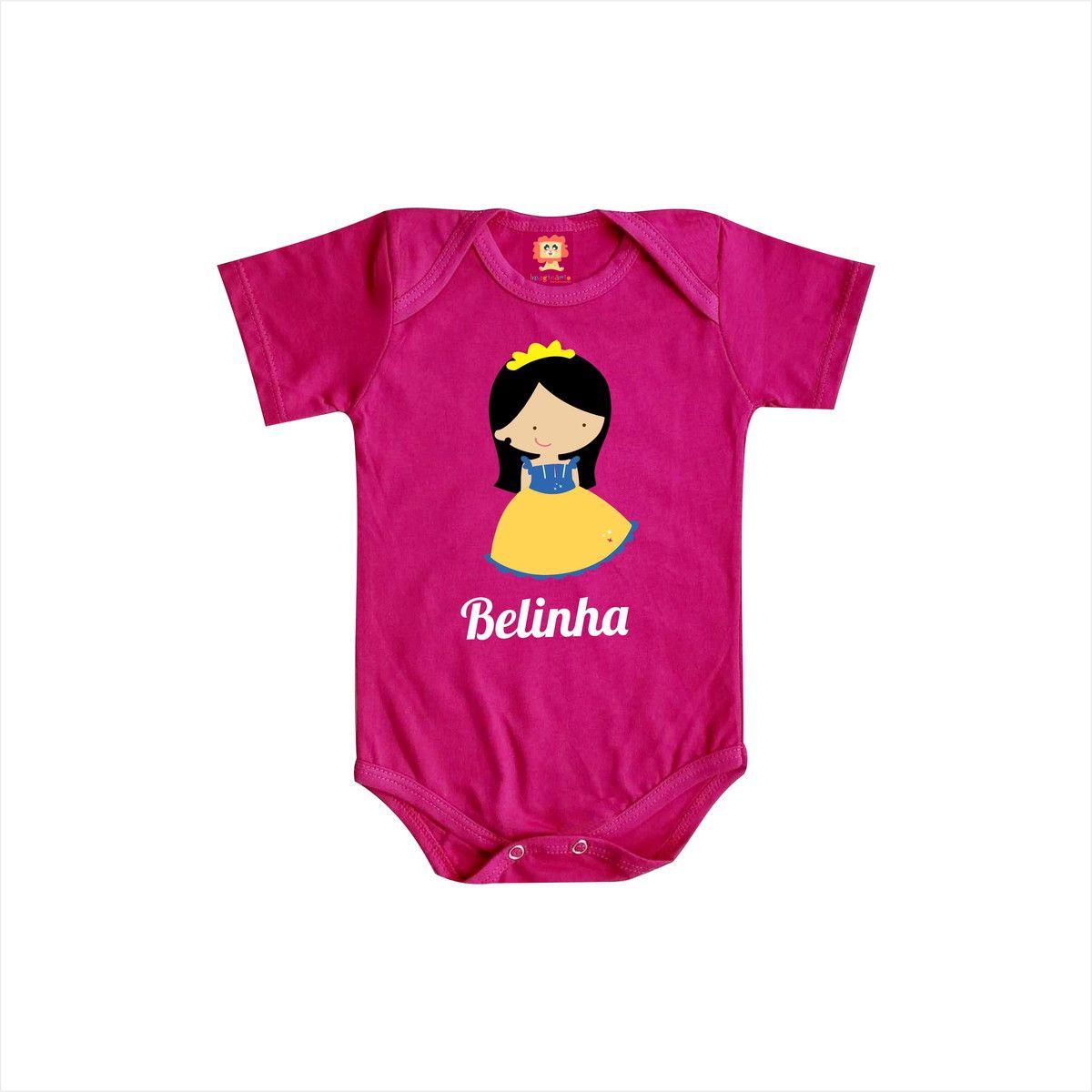 Body ou Camiseta Princesa com Nome