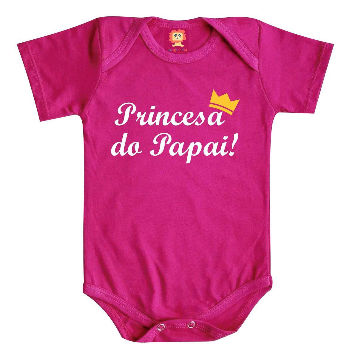 Body ou Camiseta Princesa do Papai - Dia dos Pais