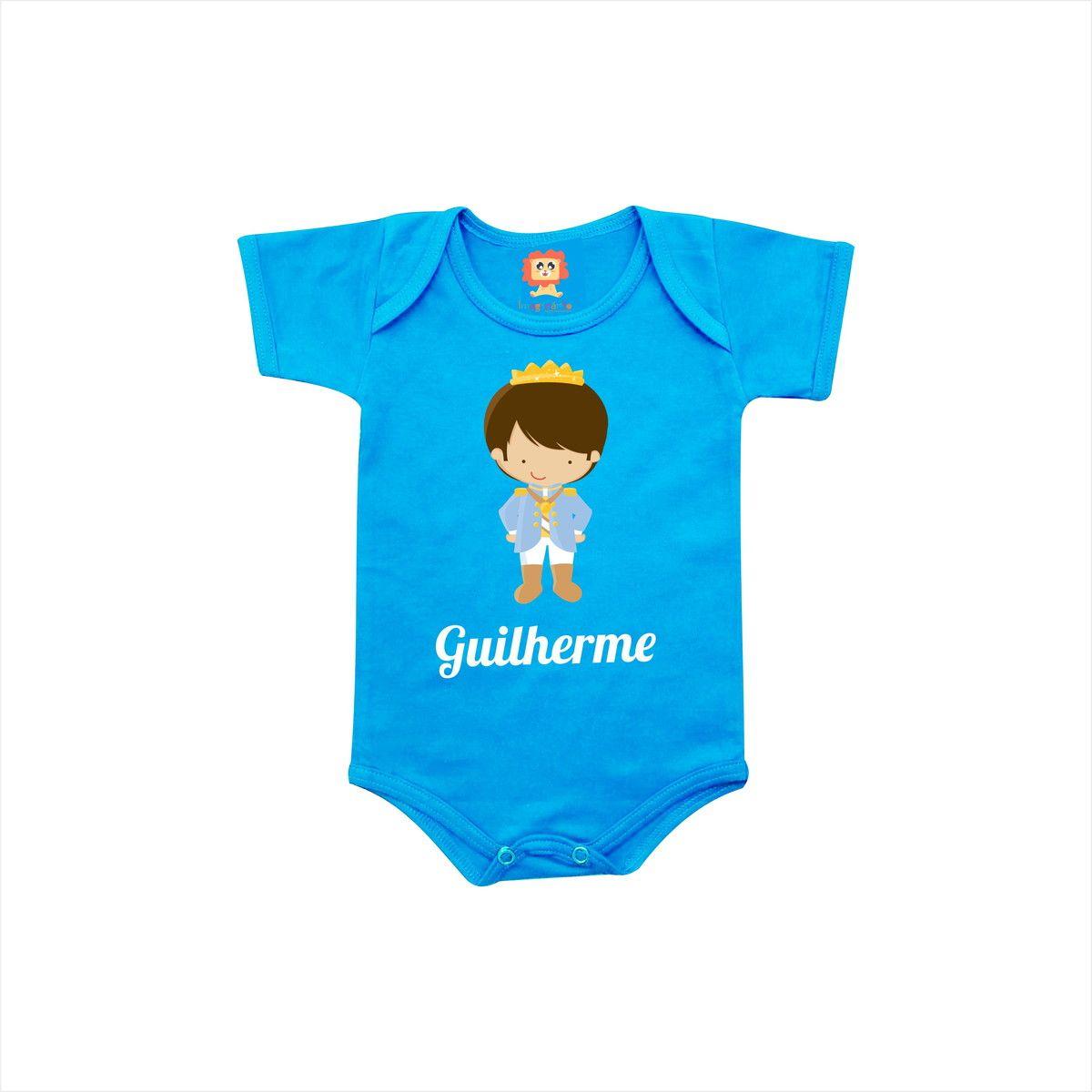 Body ou Camiseta Príncipe com Nome