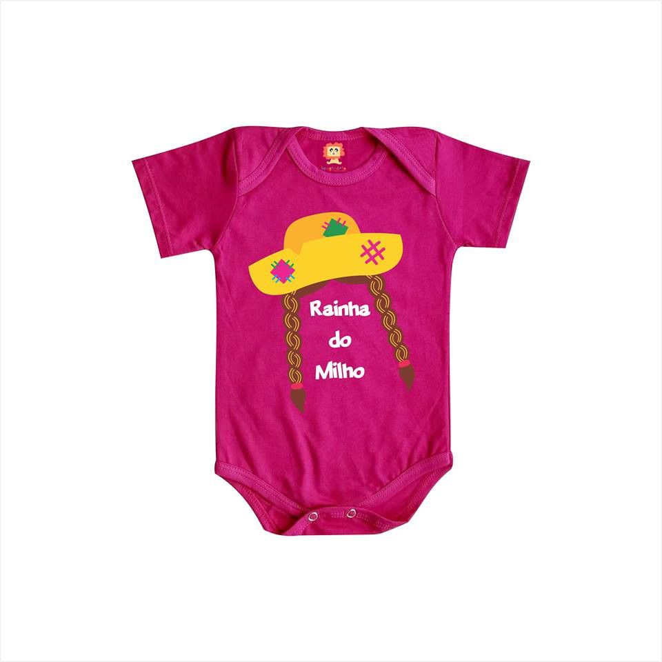 Body ou Camiseta Rainha do Milho
