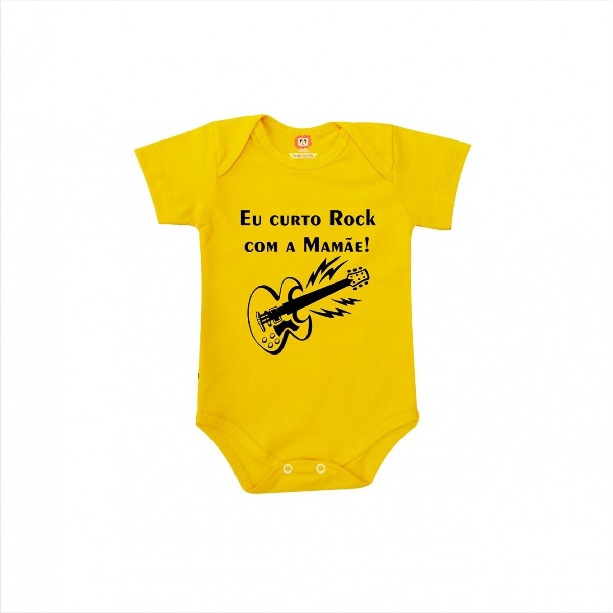 Body ou Camiseta Rock com a Mamãe