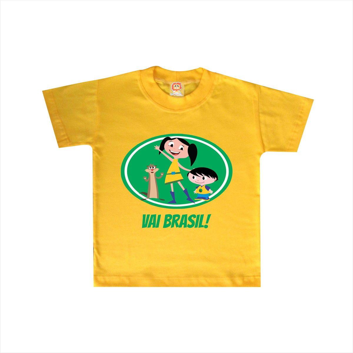 Body ou Camiseta Show da Luna Brasil Copa do Mundo