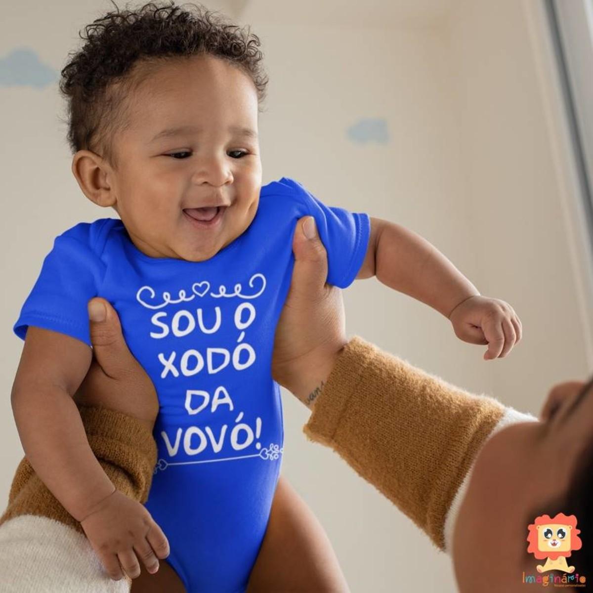 Body ou Camiseta Sou o Xodó da Vovó