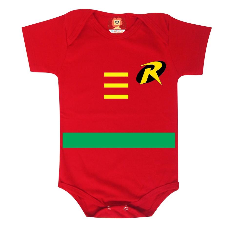 Body ou Camiseta Super Herói Robin
