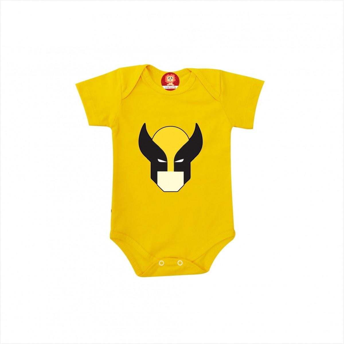 Body ou Camiseta Wolverine