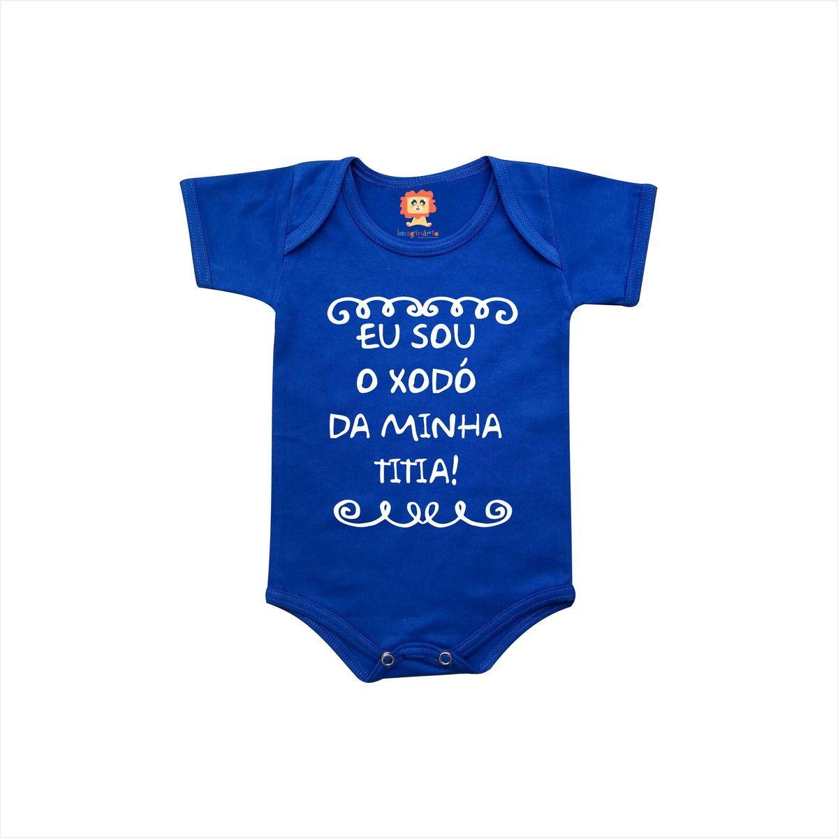 Body ou Camiseta Xodó da Titia