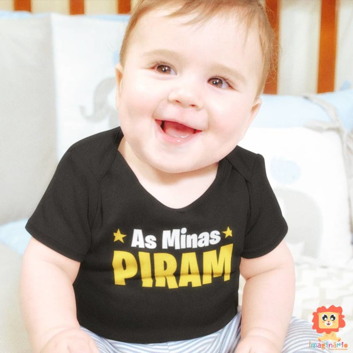 Body ou Camisetas As Minas Piram Roupinha Frases Meninos Divertidas