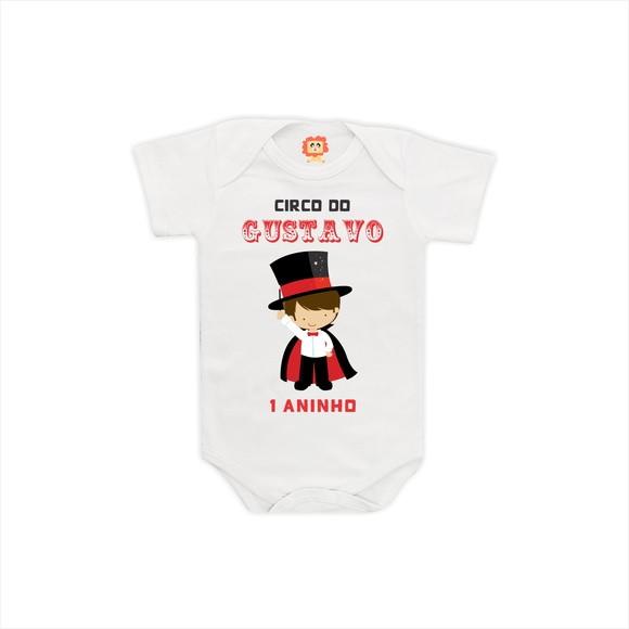 Camiseta Aniversário Circo