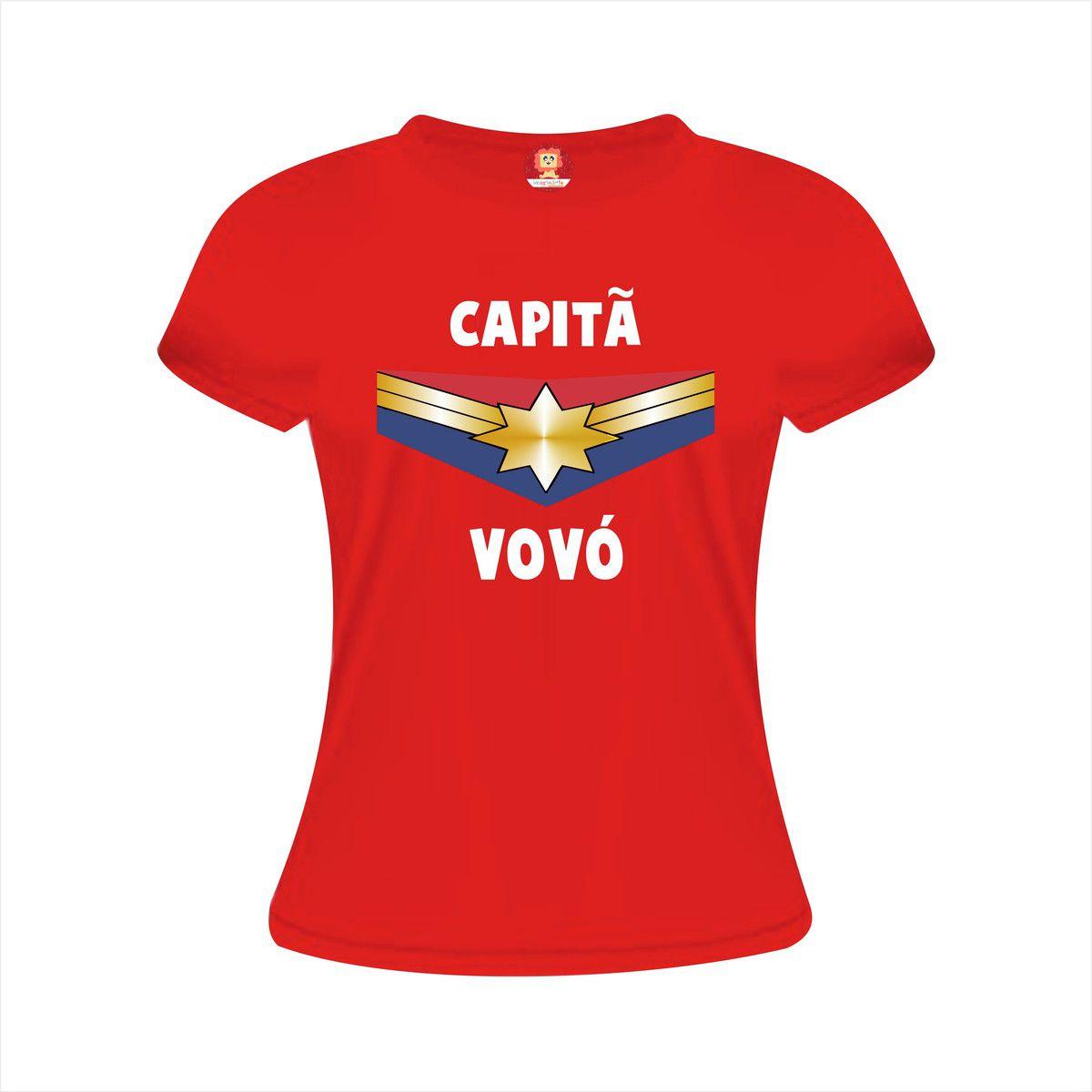 Camiseta Capitã Vovó