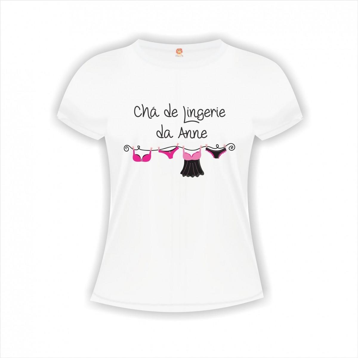 Camiseta Chá de Lingerie