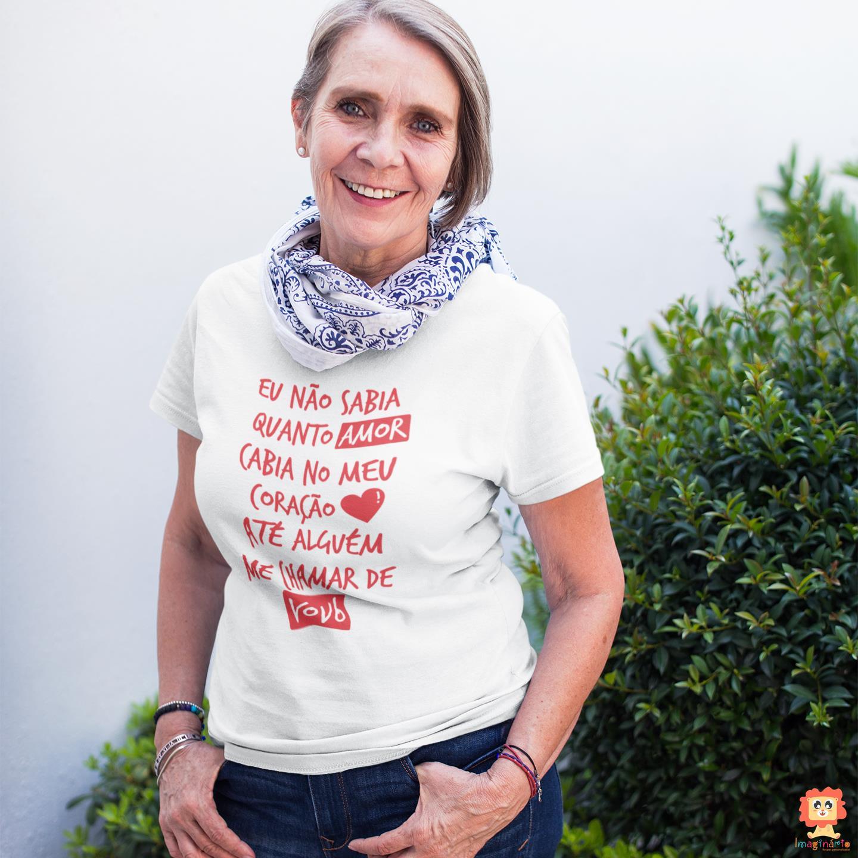 Camiseta Coração da Vovó