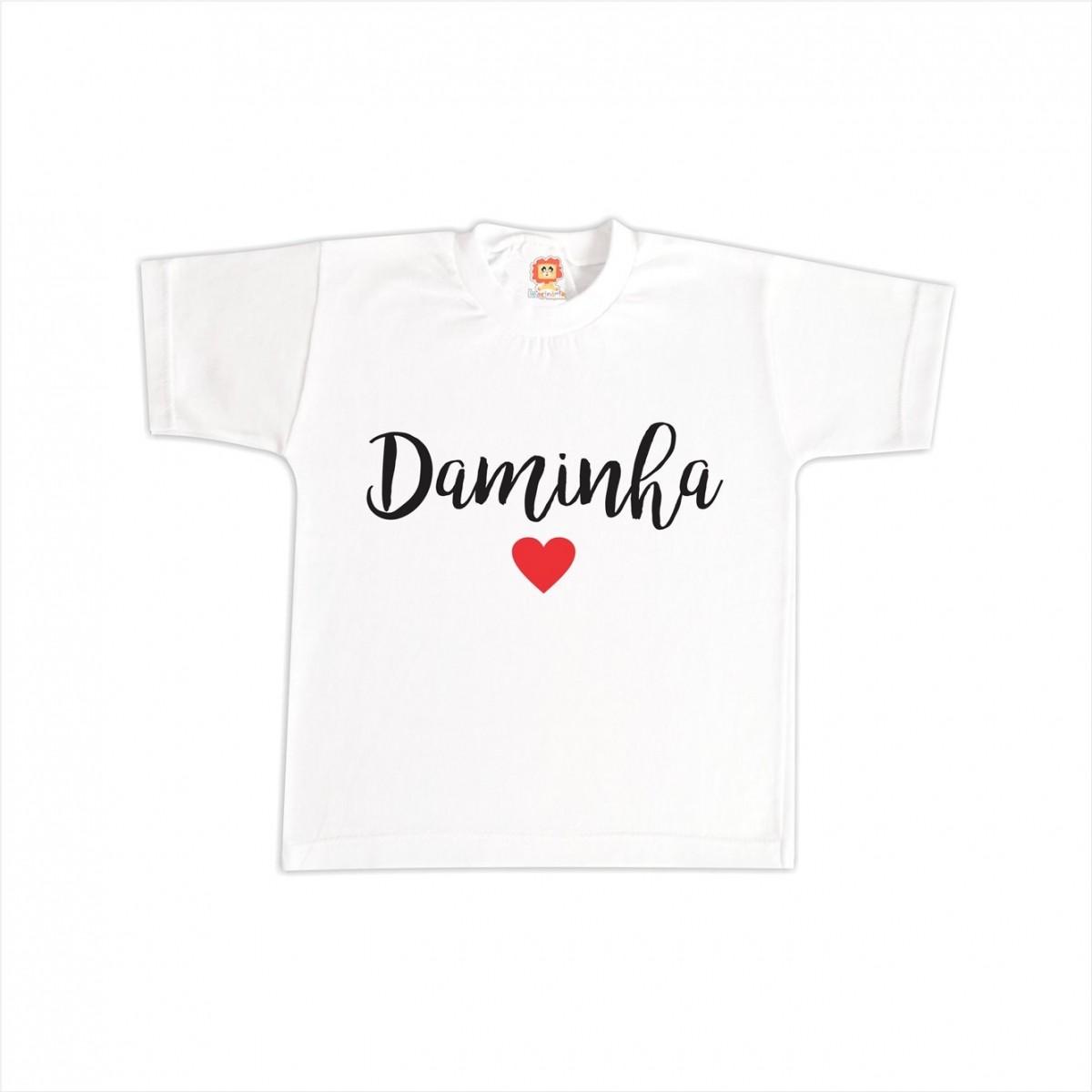 Camiseta Daminha